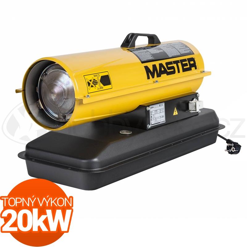 Vytápění a ohřev - Naftové topidlo Master B70CED 20kW