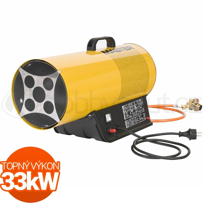 Vytápění a ohřev - Plynové topidlo Master BLP33M 33kW s regulací