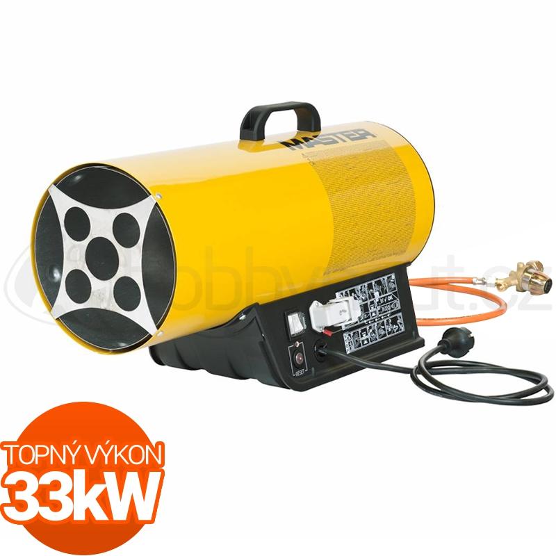 Vytápění a ohřev - Plynové topidlo Master BLP33ET 33kW pro termostat