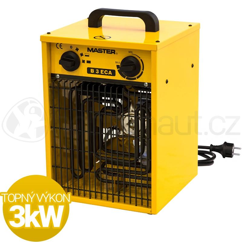 Vytápění a ohřev - Elektrické topidlo Master B3ECA 3kW