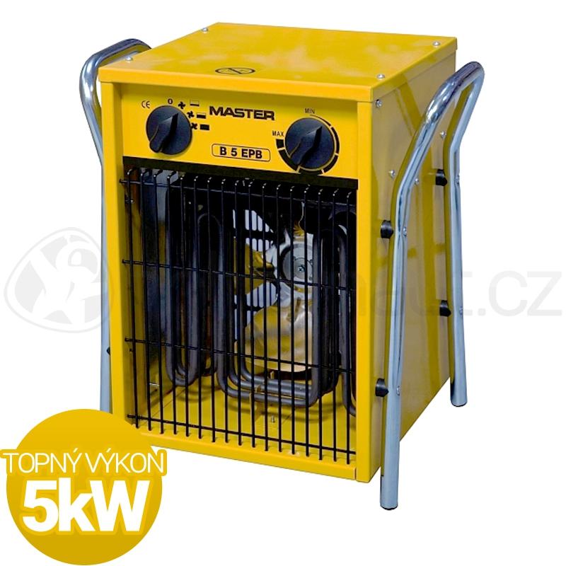 Vytápění a ohřev - Elektrické topidlo Master B5EPB 5kW