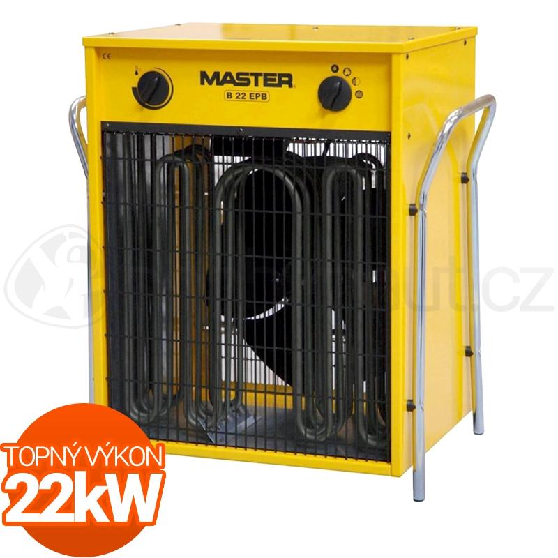 Vytápění a ohřev - Elektrické topidlo Master B22EPB 22kW