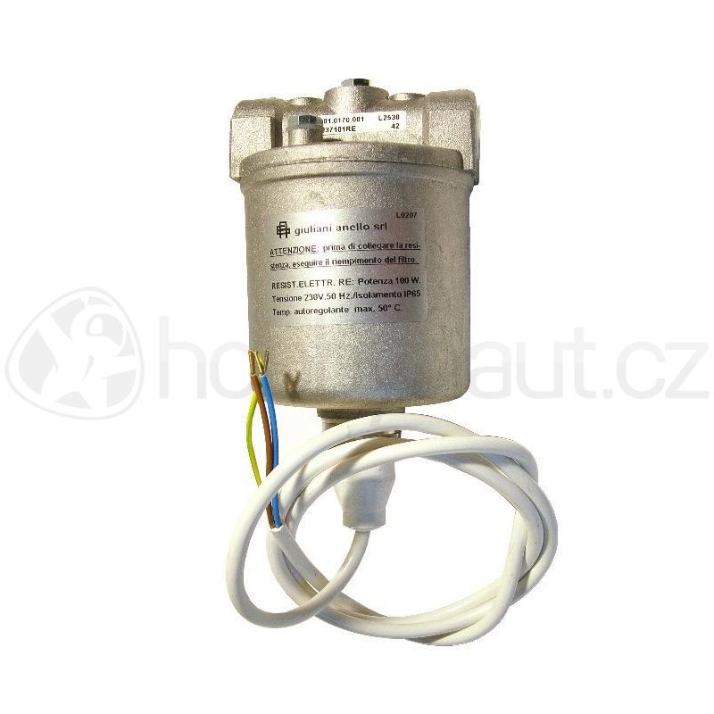 Vytápění a ohřev - Předehřev paliva pro naftová topidla Master