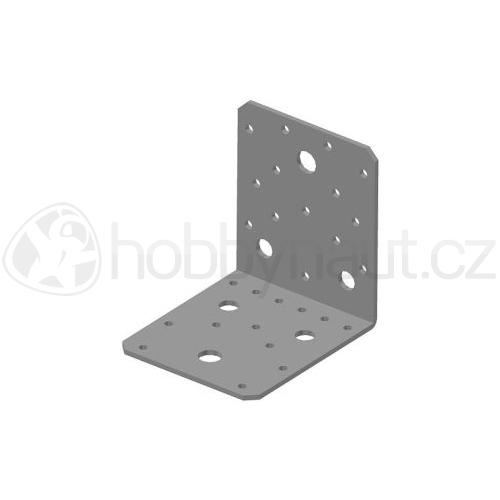 Spojovací materiál - Úhelník BOVA BV/Ú 05-23 bez vlisu (90x105mm)