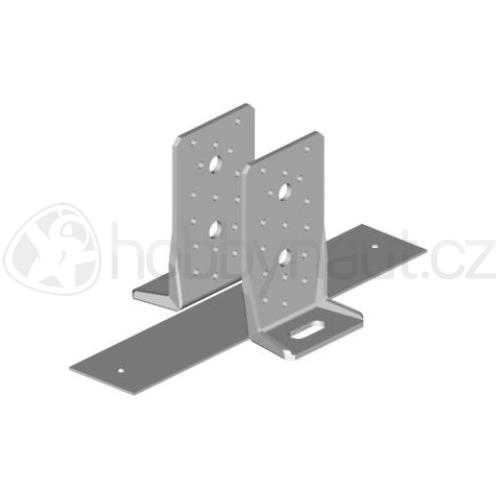 Spojovací materiál - Kotva kluzná BOVA 12-40 (š.50 x v.135mm)
