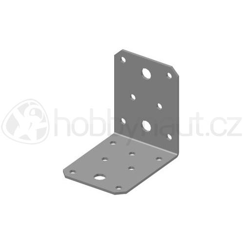 Spojovací materiál - Úhelník BOVA BV/Ú 05-21 bez vlisu (55x70mm)
