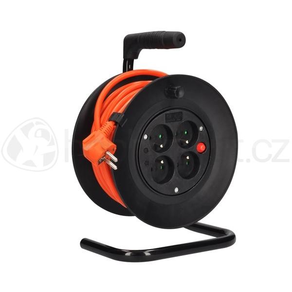 Elektro - Prodlužovací kabel na bubnu oranžový (3x1,5mm2)