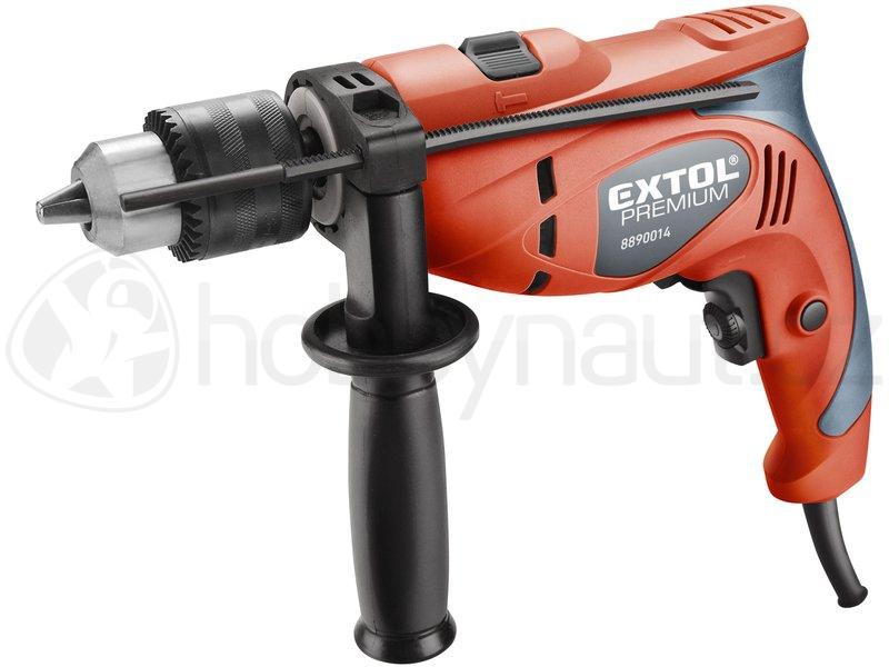 Elektrické nářadí - Vrtačka s příklepem Extol Premium  550W