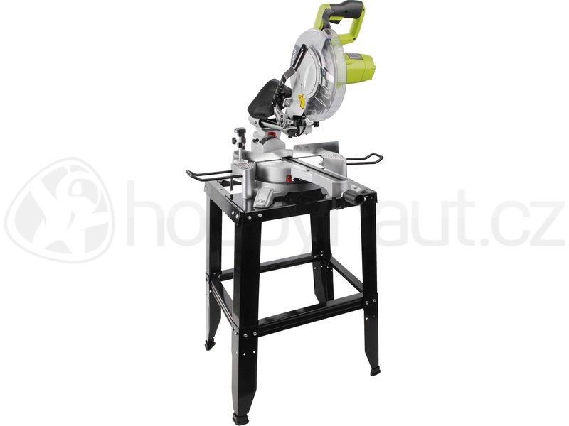 Elektrické nářadí - Pokosová pila Extol Craft s pojezdem, laserem a stojanem 255mm, 1800W
