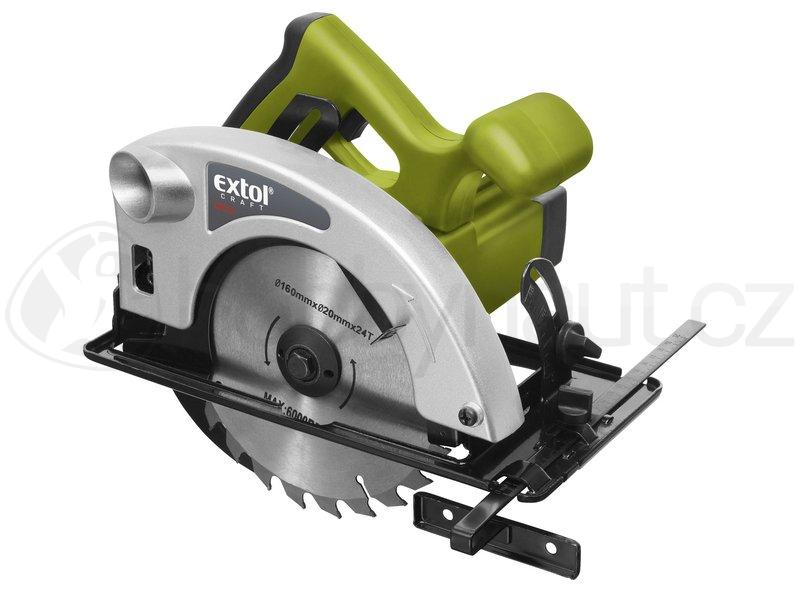 Elektrické nářadí - Okružní pila Extol Craft 160mm, 1200W