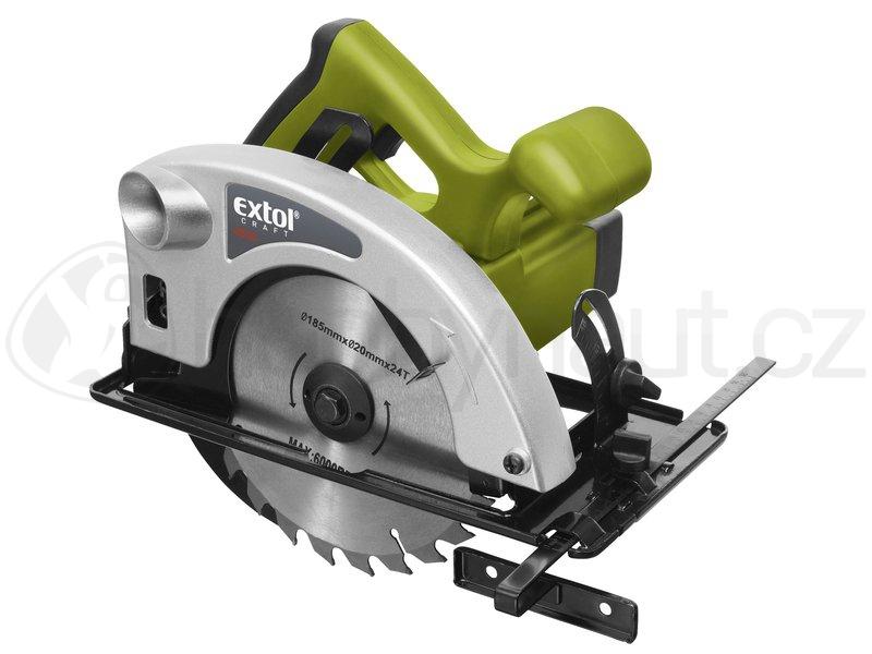 Elektrické nářadí - Okružní pila Extol Craft 185mm, 1200W