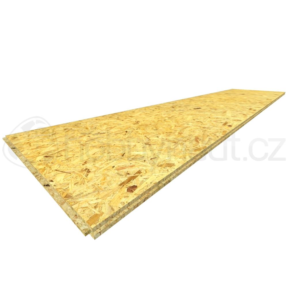 Dřevo - OSB desky Swiss Krono 4PD 625x2500mm tl. 25mm (38ks/pal)