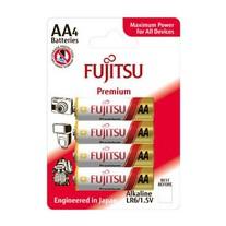 Baterie Fujitsu Premium Power alkalické AA 4ks