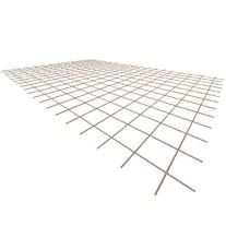 Ocelová KARI síť KH20 - 6mm/150x150mm/2x3m