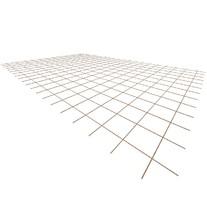 Ocelová KARI síť KA17 - 4mm/150x150mm/2x3m