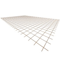 Ocelová KARI síť KA16 - 4mm/100x100mm/2x3m
