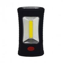 LED svítilna pracovní kapesní 120lm, 3xAAA, hák, magnet