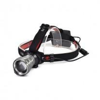 LED svítilna čelová, Cree XPG R5, 300lm, fokus, 3xAA