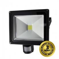 LED reflektor venkovní 30W, 2400lm, AC 230V, se senzorem