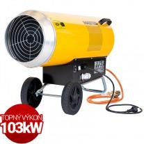 Plynové topidlo Master BLP103ET 103kW pro termostat