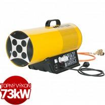 Plynové topidlo Master BLP73ET 73kW pro termostat