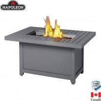 Stůl s ohništěm Napoleon Patio Flame Hampton obdélníkový
