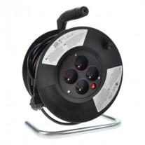 Prodlužovací kabel na bubnu černý (3x1,5mm2)