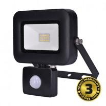 LED reflektor PRO venkovní 10W, 850lm, AC 230V, se senzorem